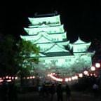 福山城の夜桜(ノ゜O゜)ノ