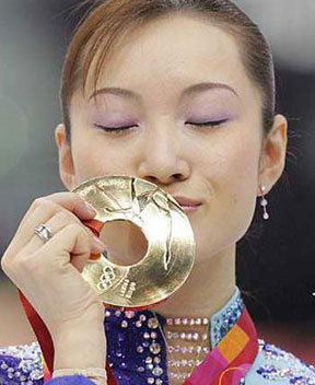 金メダルにあやかりたい(切実)