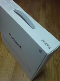 我が家にMacBookがやってきたっっ!!