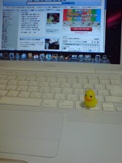 MacBookはとにかく白い