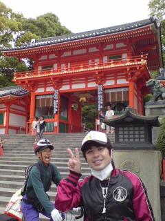 八坂神社で奇跡的ショット!