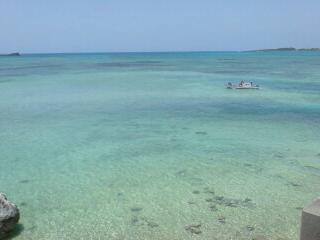 宮古島の海、発見っ!
