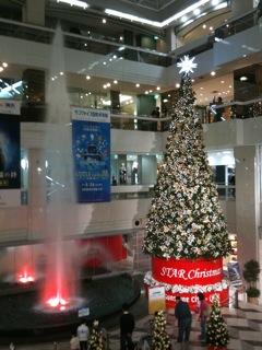 クリスマスツリー対決