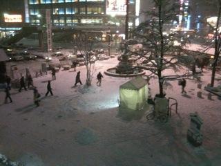 寒ーーい風景(-。-;