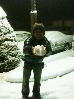 長野は大雪なのだ