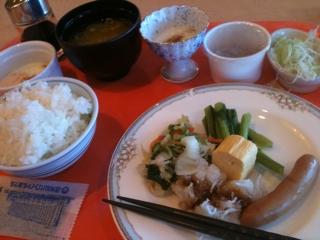 朝食バイキングd(^_^o)