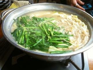 もつ鍋パーリナイト♪(´ε` )in博多