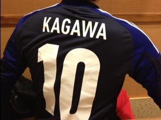 2012年のサッカー日本代表ユニフォーム!